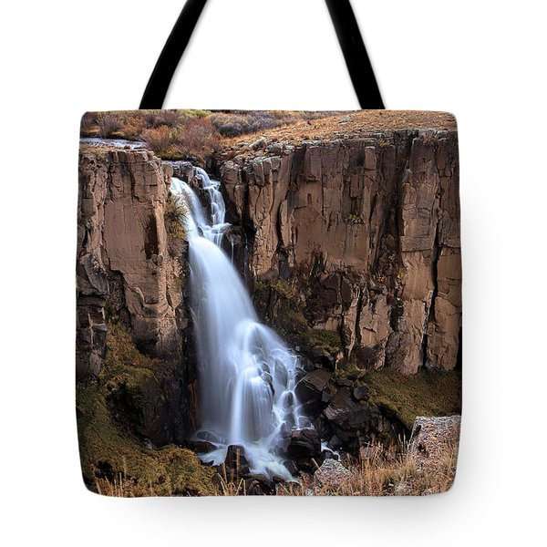 Down From The Brink Tote Bag