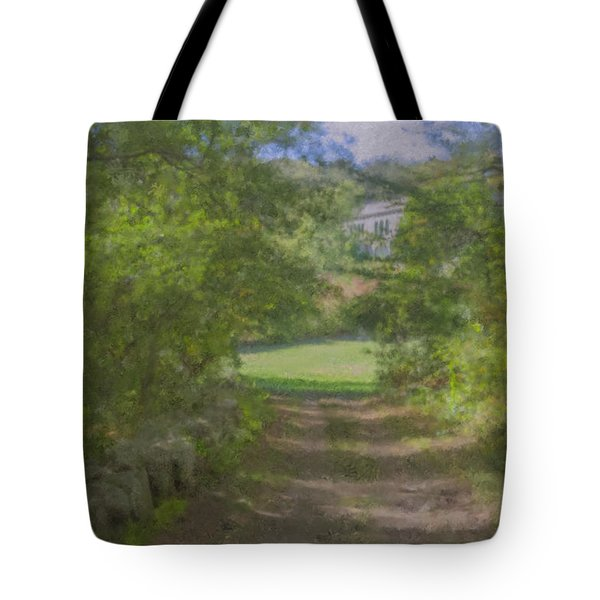 Down From The Mansion Tote Bag