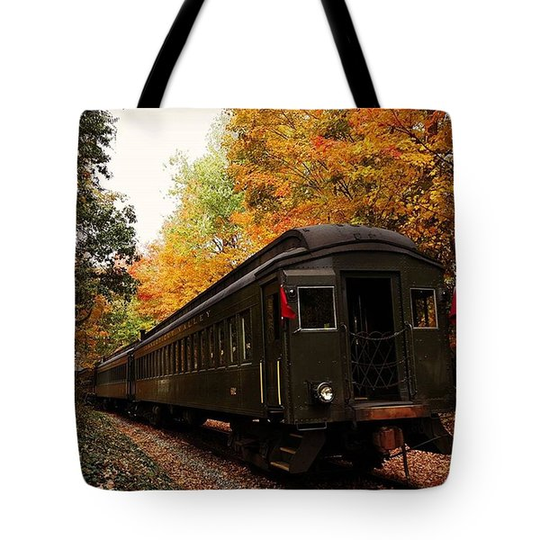 Down In Essex Ct To Get A Little Fall Tote Bag