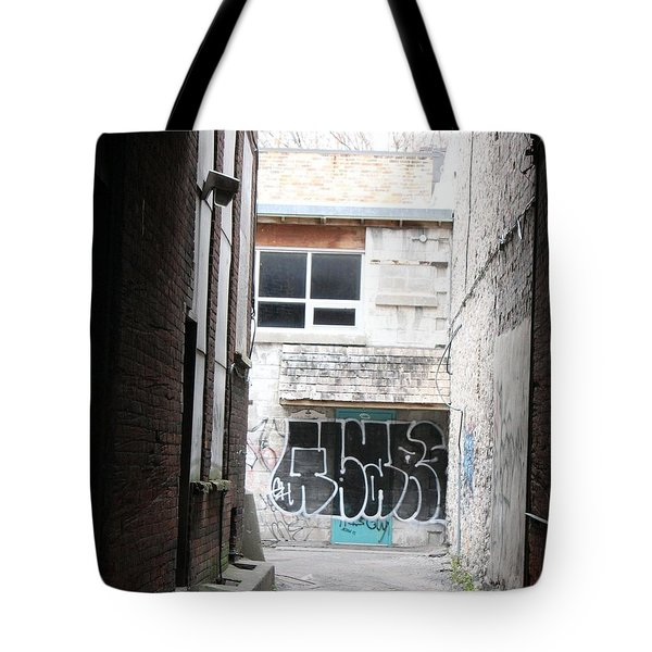 Down In The Alley Tote Bag