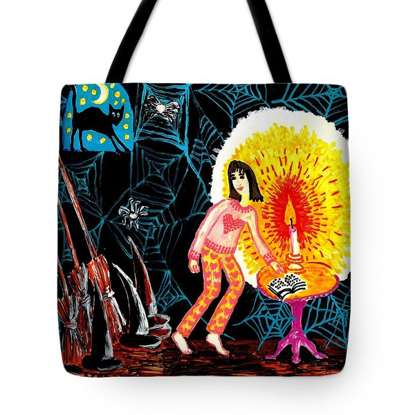 Down In The Cellar Tote Bag by Sushila Burgess