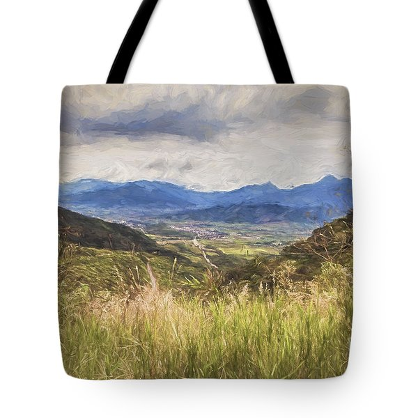 Tote Bag featuring the photograph Down In The Valley  ... by Chuck Caramella