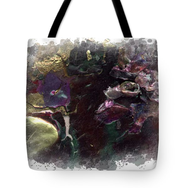 Tote Bag featuring the mixed media Down In The Valley by Angela L Walker