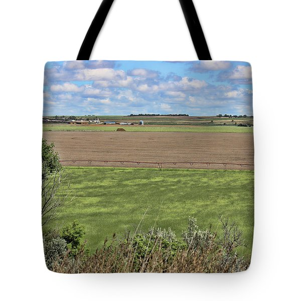 Down In The Valley Tote Bag by Sylvia Thornton