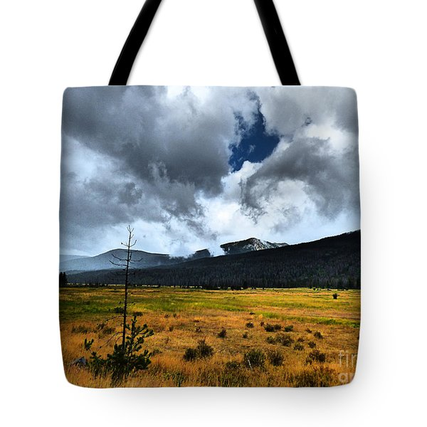 Down In The Valley Tote Bag by Thomas Bomstad