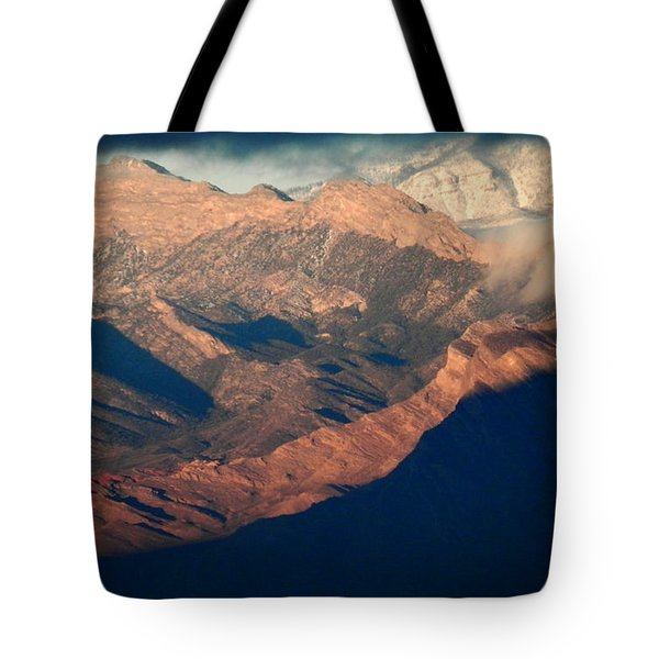 Down Into The Valley Tote Bag