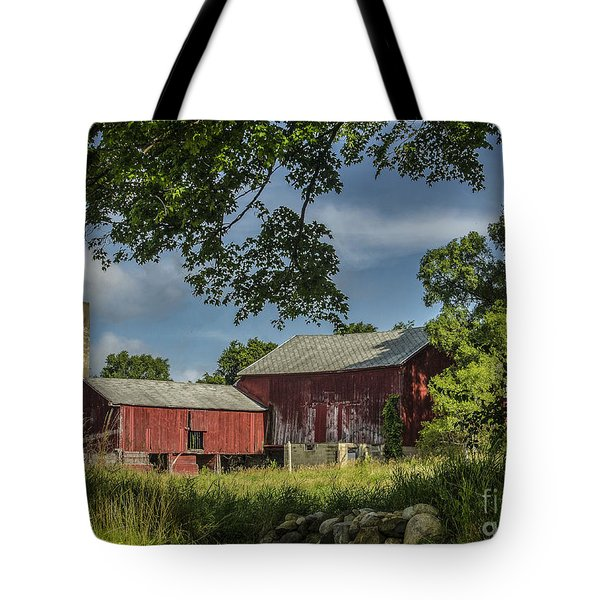 Tote Bag featuring the photograph Down On The Farm by JRP Photography