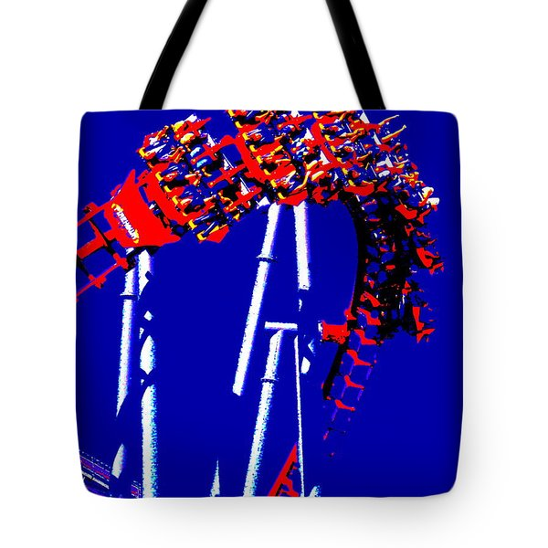 Down Side Up Tote Bag