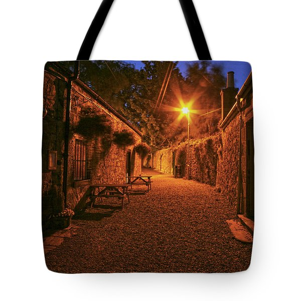 Down The Alley Tote Bag by Robert Och