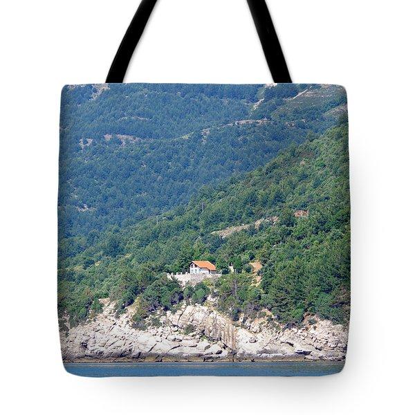 Down The Mountain Tote Bag