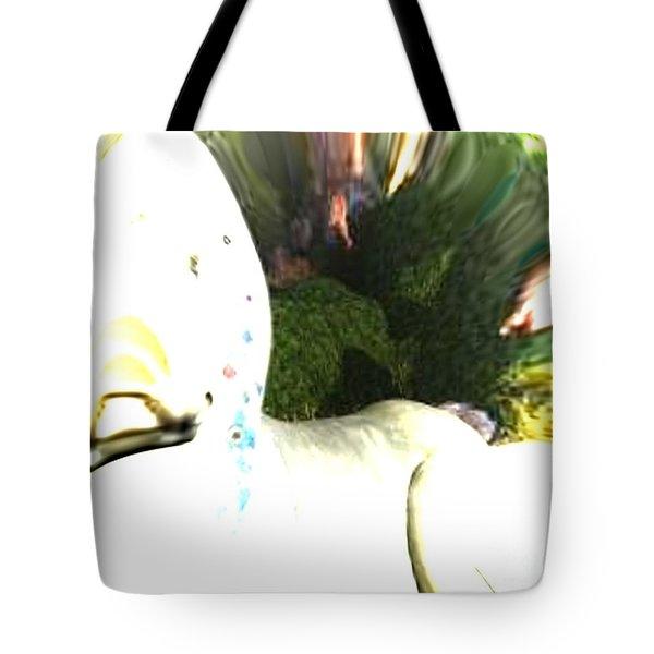 Down The Rabbit Hole Tote Bag by Vicki Lynn Sodora