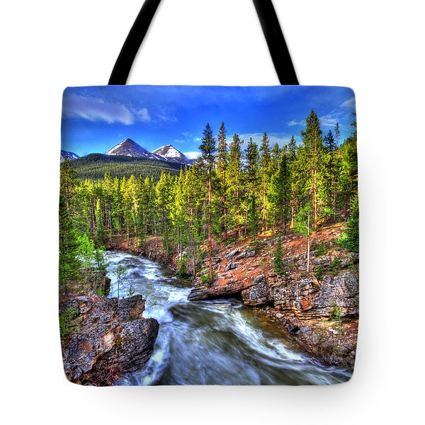 Down The River Tote Bag by Scott Mahon
