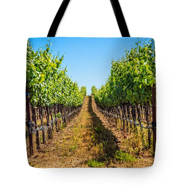 Down The Row Tote Bag