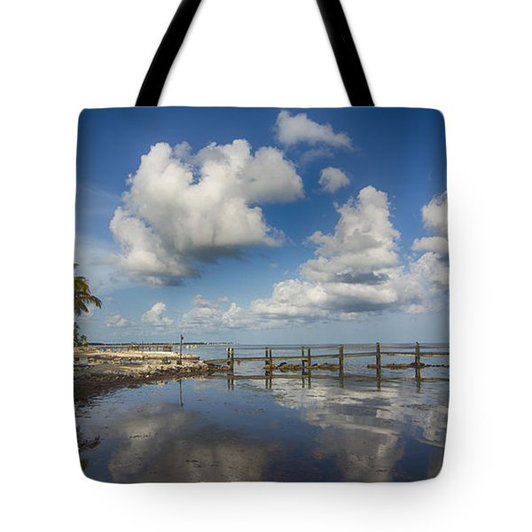 Tote Bag featuring the photograph Down The Shore by Don Durfee