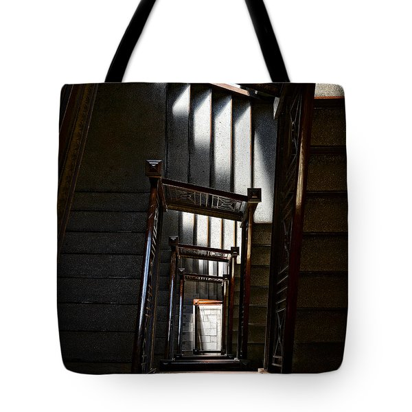 Down The Stairs Tote Bag