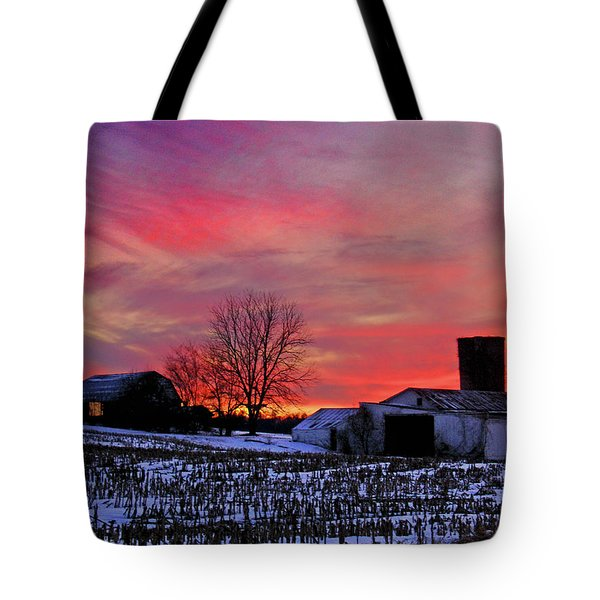 Down The Street From Daranya's House Tote Bag