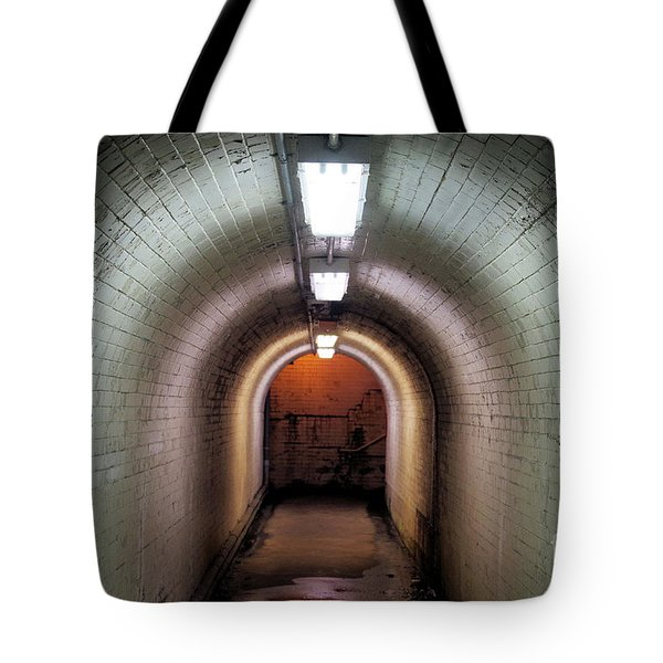 Down The Tunnel Tote Bag
