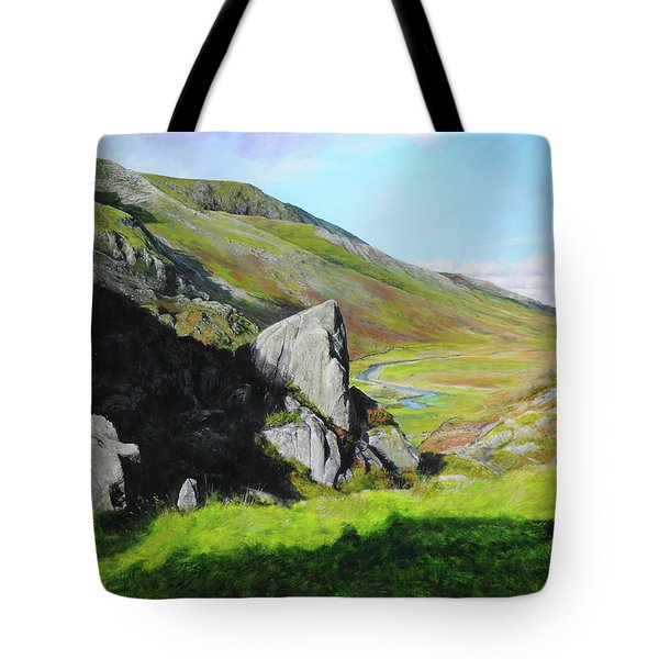 Down The Valley Tote Bag by Harry Robertson