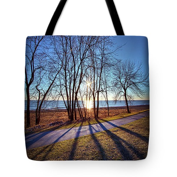 Tote Bag featuring the photograph Down This Way We Meander by Phil Koch
