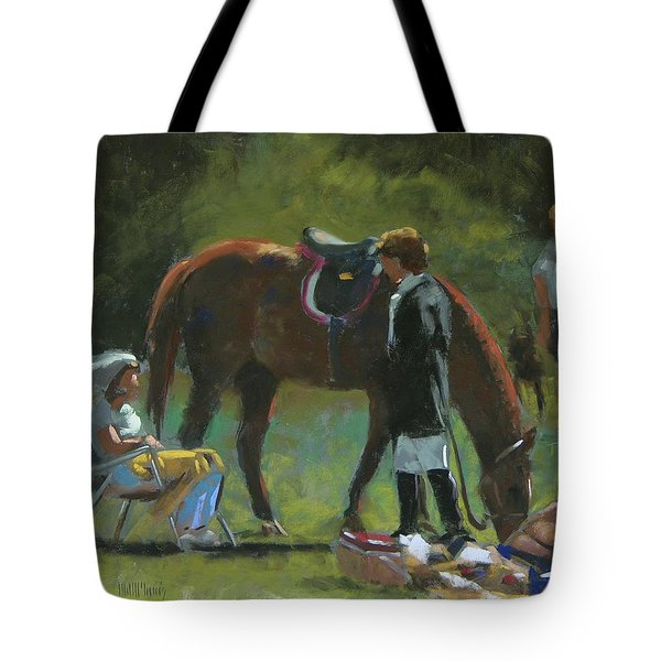 Down Time Tote Bag by Mary McInnis