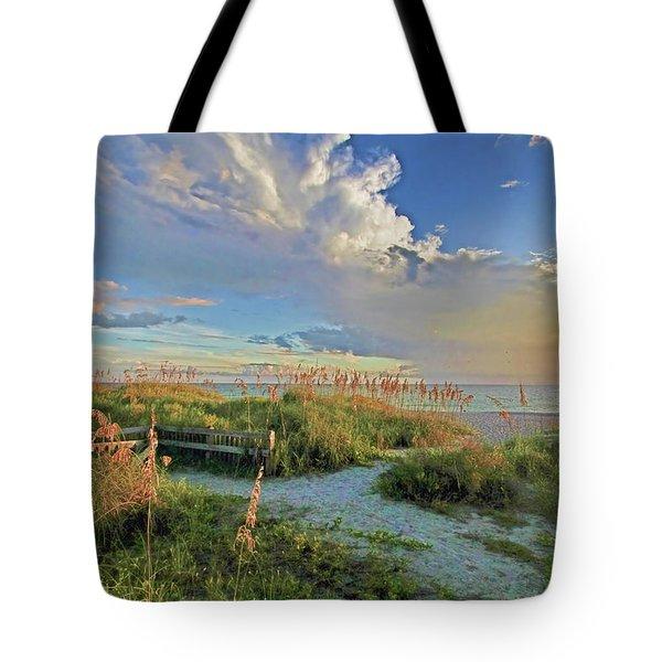 Down To The Beach 2 - Florida Beaches Tote Bag