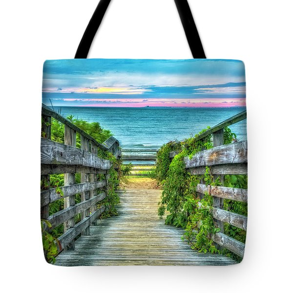 Down To The Beach Tote Bag