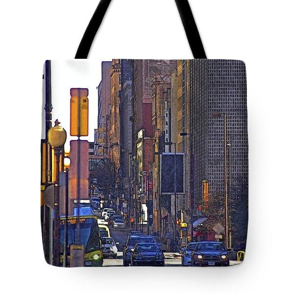 Down Town Tote Bag