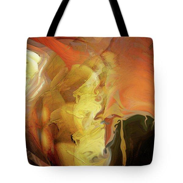 Down Under Tote Bag by Linda Sannuti