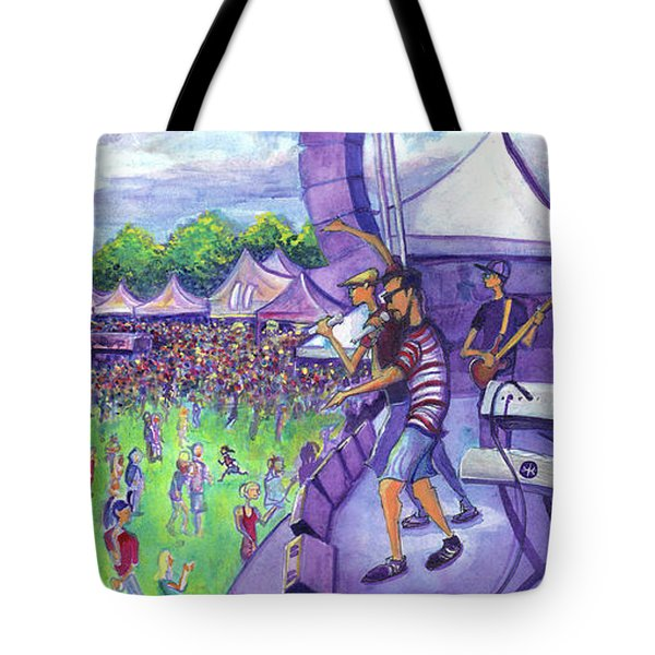 Down2funk At Arise Tote Bag by David Sockrider