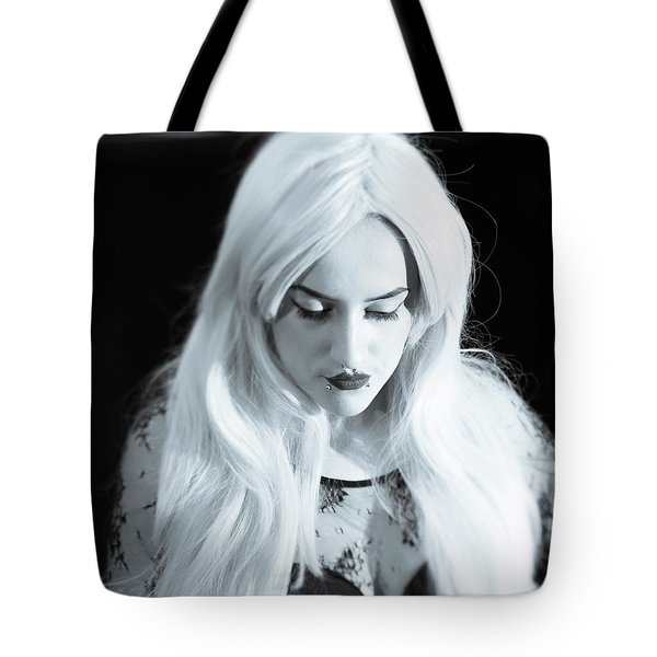 Tote Bag featuring the photograph Downcast by Ian Thompson