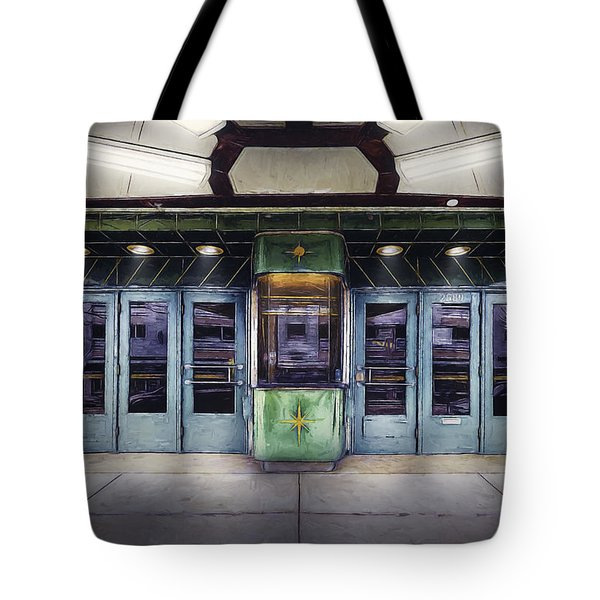 Downer Theater Box Office Tote Bag