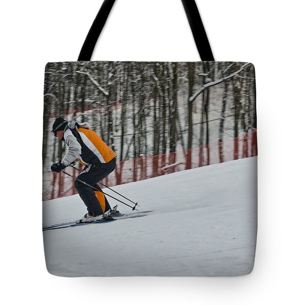 Downhill Tote Bag