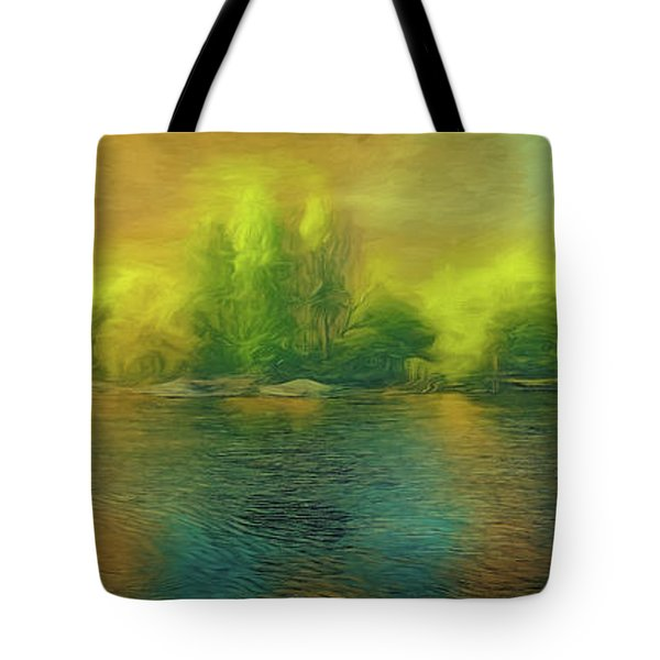 Downriver Glow Tote Bag