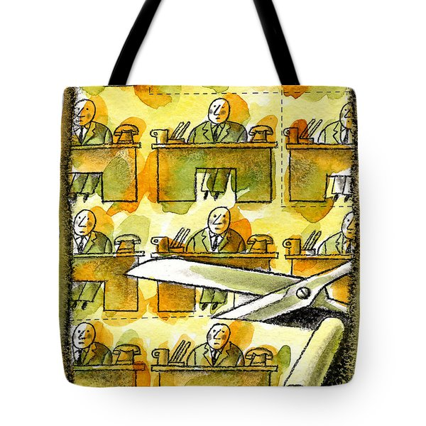 Downsizing Tote Bag