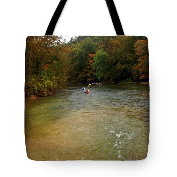 Downstream Tote Bag by Marty Koch