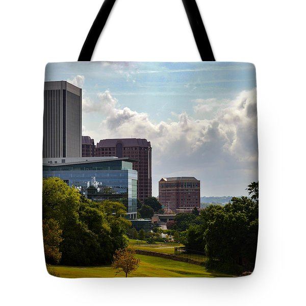 Downtown Beauty Tote Bag