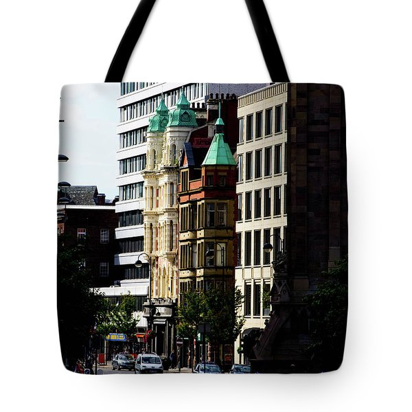 Downtown Belfast Tote Bag