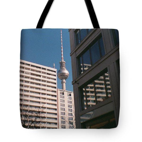 Downtown Berlin Tote Bag
