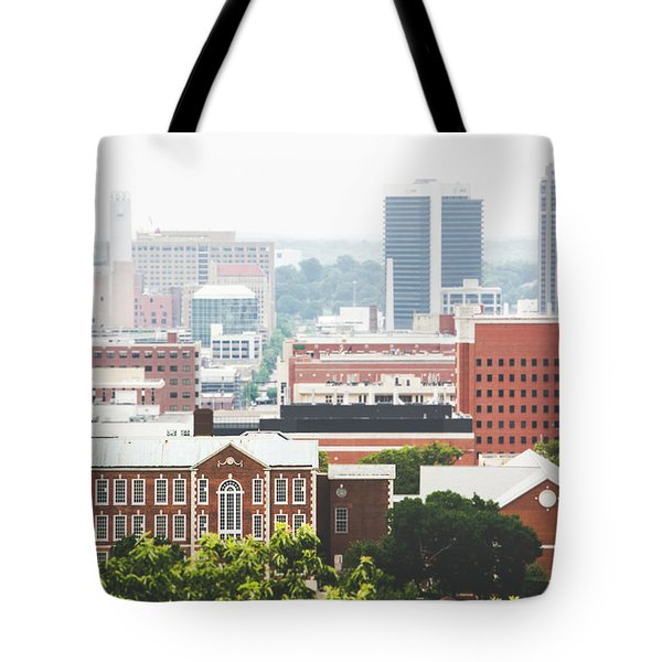Tote Bag featuring the photograph Downtown Birmingham - The Magic City by Shelby Young