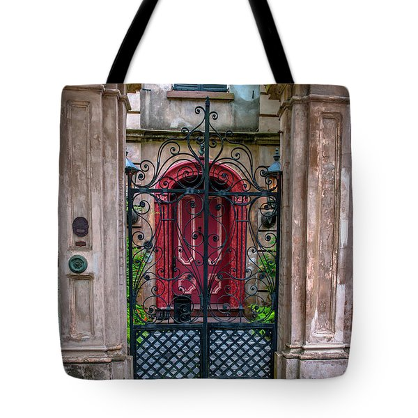 Downtown Charleston Architecture Tote Bag