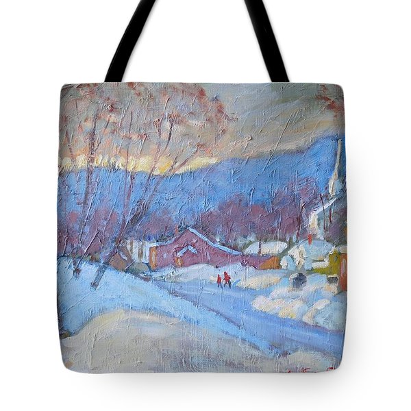 Downtown Cheshire 2016 Tote Bag