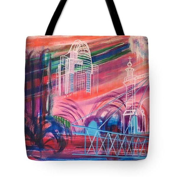 Downtown Cincinnati Tote Bag
