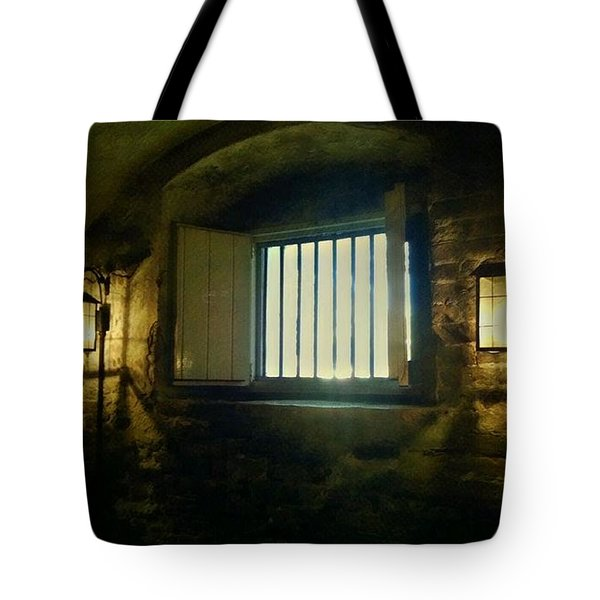 Downtown Dungeon Tote Bag