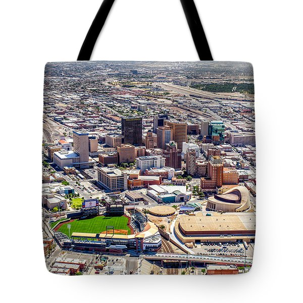 Downtown El Paso Tote Bag