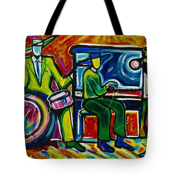Downtown Tote Bag by Emery Franklin