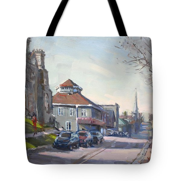 Downtown Georgetown On Tote Bag