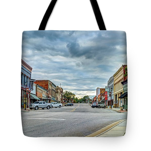Downtown Hamlet Tote Bag