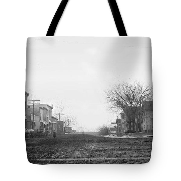 Downtown Hudson Iowa Tote Bag
