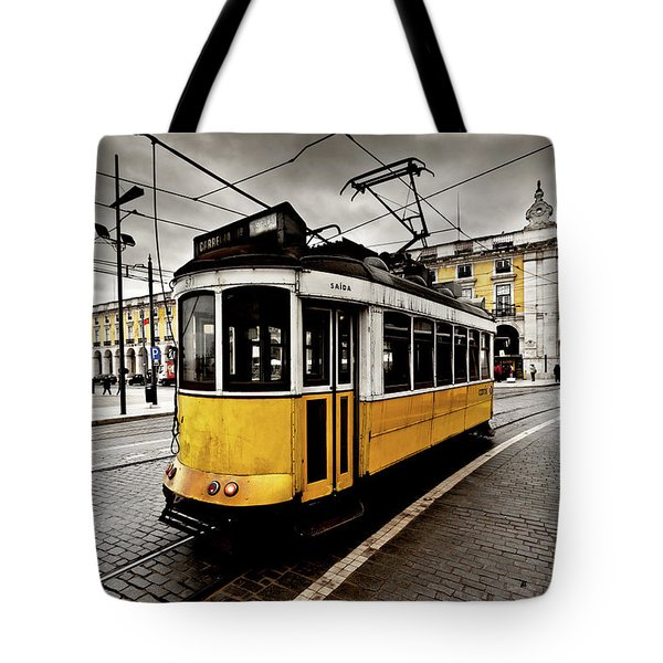 Downtown Tote Bag by Jorge Maia