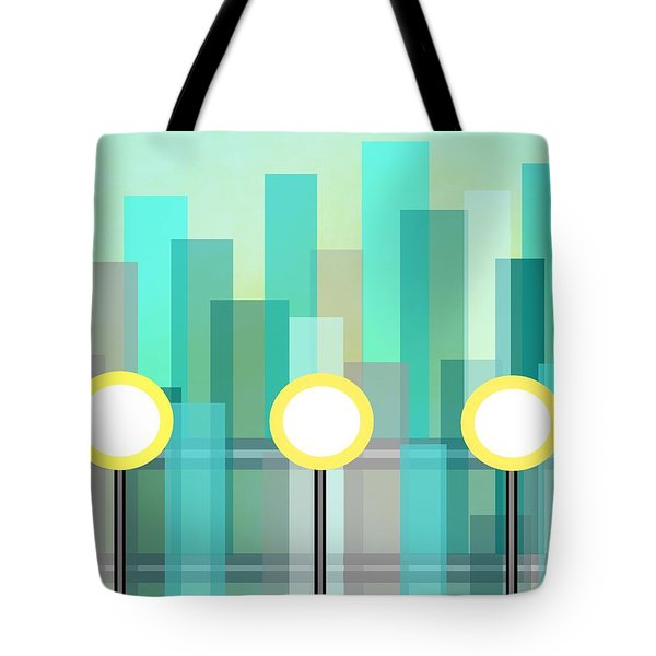 Downtown Tote Bag by Kathleen Sartoris